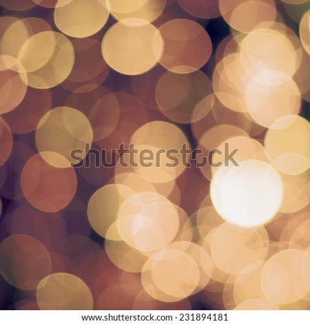 defocused lights bokeh background - stock photo