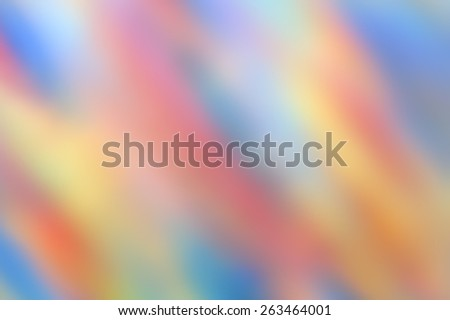 Defocused pastel bokeh background  - Blurred backdrop for abstract compositions - Colors neutral blur with multicolored shades - stock photo