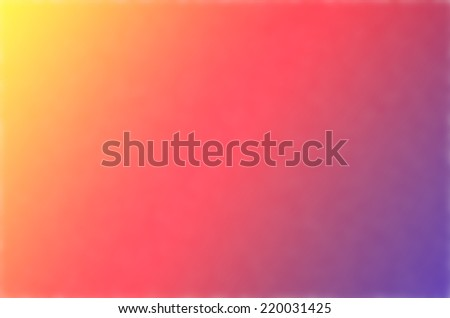 Defocused Smooth colors Gradient Background. Festive background with natural bokeh and bright lights. - stock photo