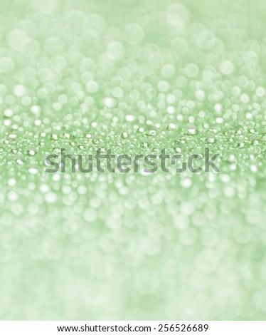 Defocused,Waterdrop on blue background - stock photo