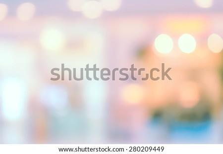 defoused-bokeh-lights - stock photo