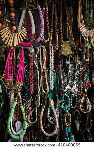Delhi, India - March 22 2015: Indian jewelry Store in Delhi - Mar, 22, 2015 at Delhi, India - stock photo