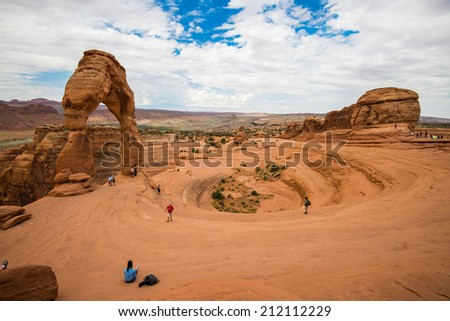 Delicate Arch - stock photo