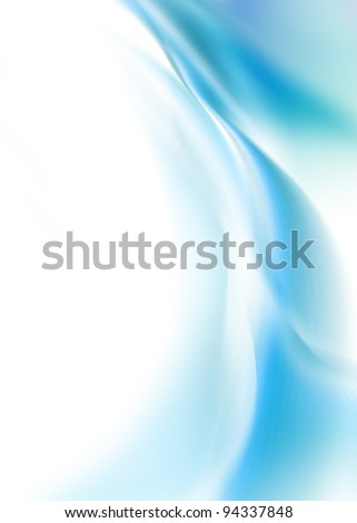 delicate blue background - stock photo
