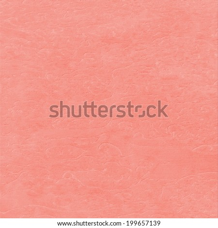 delicate watermelon color background pressed pattern - stock photo