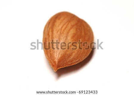 Delicious Almond nut as a background - stock photo