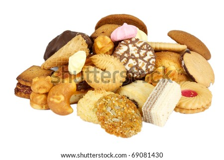 Delicious and Tasty  Chip Cookie - stock photo