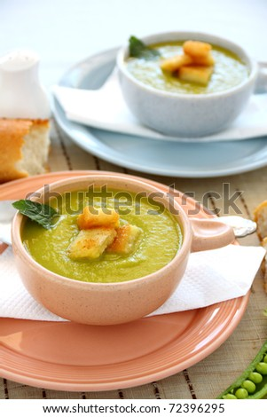 ... of boiled chicken pea soup gazpacho soup french cuisine corn potage