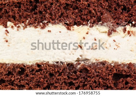 delicious cake texture in the photo - stock photo