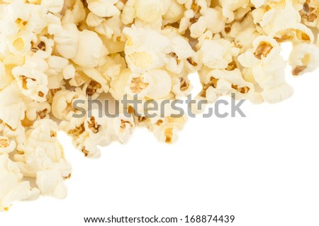 delicious detail of popcorn