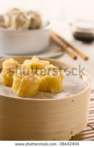 Delicious Dim-Sum - stock photo