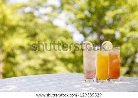 Delicious drink - stock photo