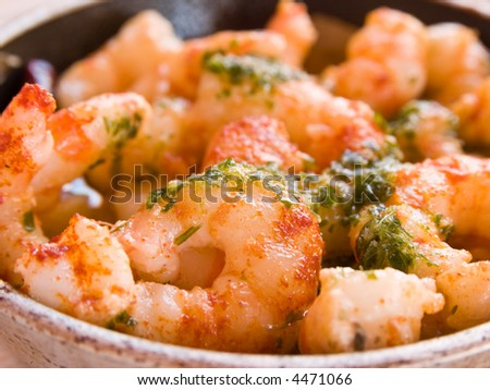 Delicious Garlic Prawns