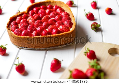 delicious gift on Valentine's Day for your loved one - stock photo