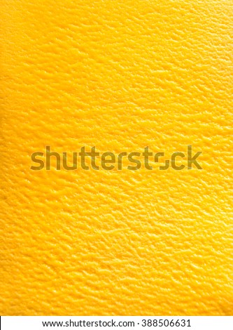 Delicious Italian mango sorbet gelato in a full frame background texture viewed from above - stock photo