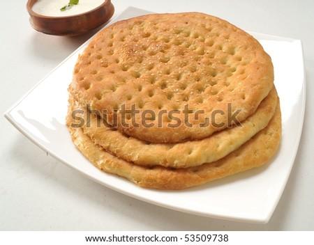 Delicious Kulcha - stock photo