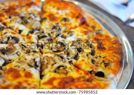 Delicious Looking Pizza Delicious Looking Freshly