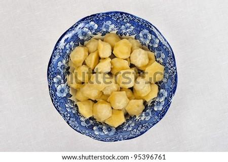 delicious ravioli - stock photo