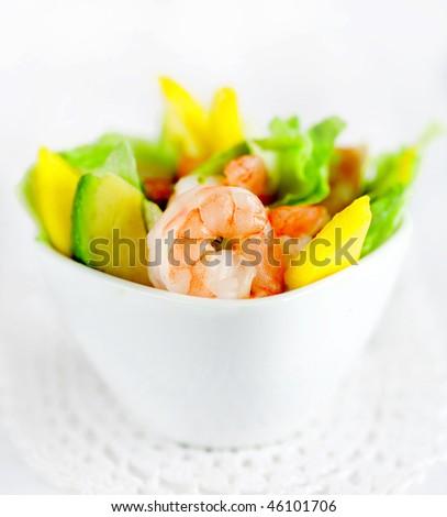 Delicious salad - stock photo
