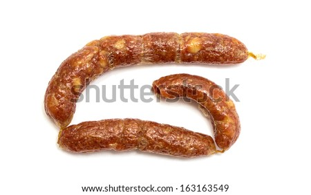 delicious smoked sausages