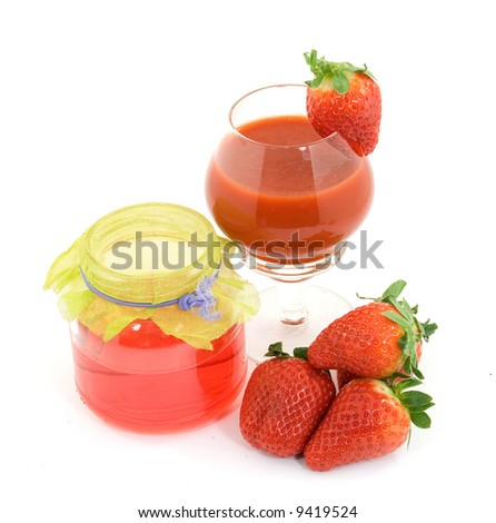 delicious strawberries fruit studio isolated