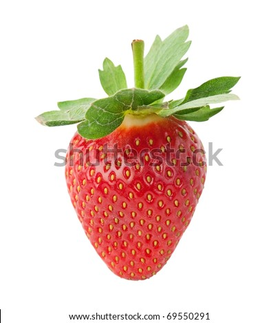 Delicious strawberry. - stock photo