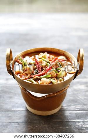 delicious Thai food : soup - stock photo
