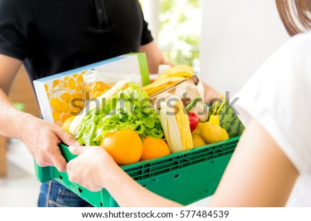 Grocery shopping online delivery