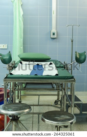 Delivery room - stock photo