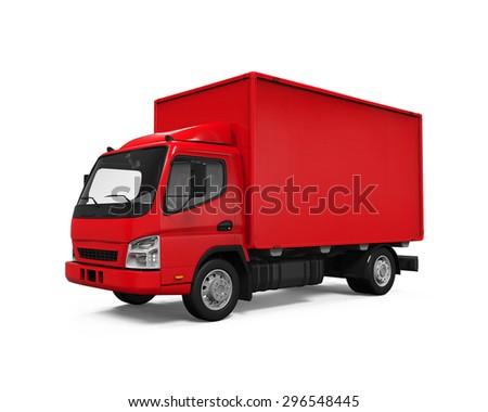 Delivery Van - stock photo