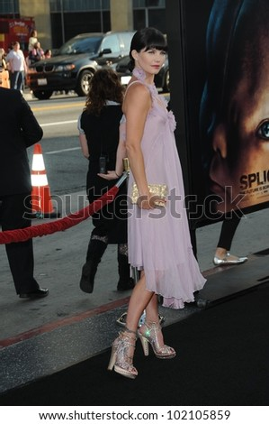 "Delphine Chaneac at the ""Splice"" Los Angeles Premiere, Chinese Theatre, Hollywood, CA. 06-02-10"
