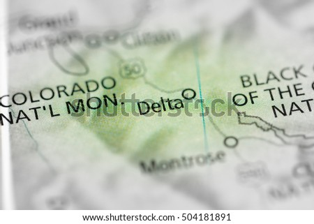 Delta. Colorado. USA
