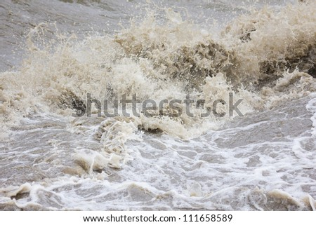 deluge - stock photo