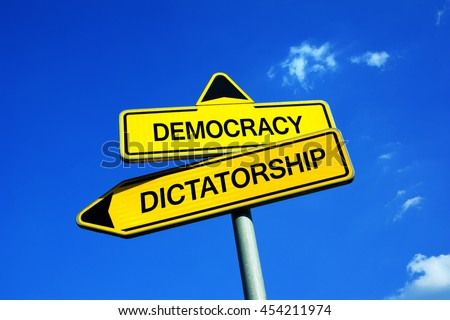strong dictatorship vs weak democracy Democracy vs dictatorship: political opposites may 29, 2014 by jessicaheichel when comparing political philosophies, two types of government which are often at odds with one another are democracy and dictatorship why would these two terms come up together so often.