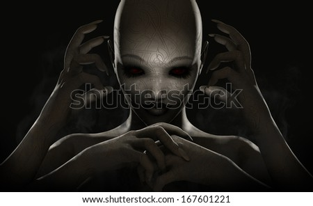 Demon - stock photo