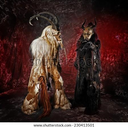 Demon, Satan - stock photo