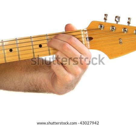 Demonstration How Play E Minor Em Stock Photo (Edit Now)- Shutterstock