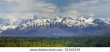 Denali, Alaska - stock photo