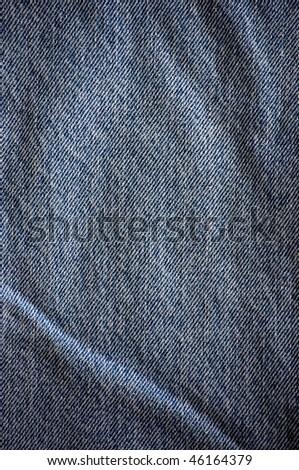 denim background, blue - stock photo
