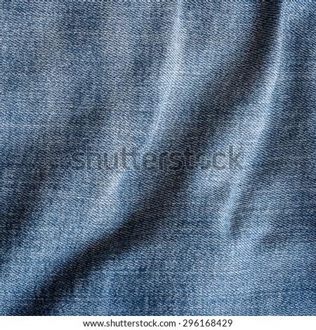 denim background, denim texture - stock photo