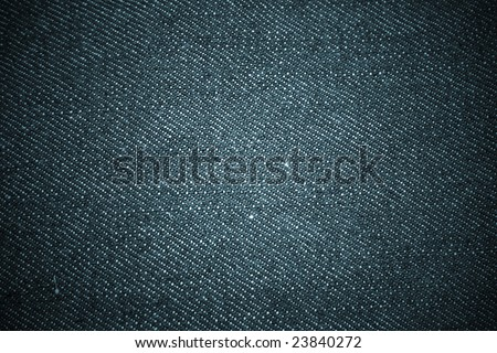 Denim Detail - stock photo