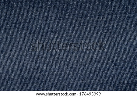 Denim fabric texture background. Jeans texture ready for use. - stock photo