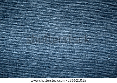 Denim fabrics background - stock photo