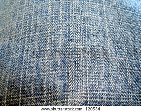 Denim jeans fabric weave thread cloth clothes fashion pants trousers garment