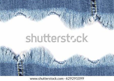 https://thumb7.shutterstock.com/display_pic_with_logo/1769528/629291099/stock-photo-denim-jeans-ripped-destroyed-torn-blue-edge-frame-isolated-on-white-background-text-place-629291099.jpg