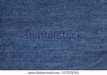 Denim jeans texture or denim jeans background with seam