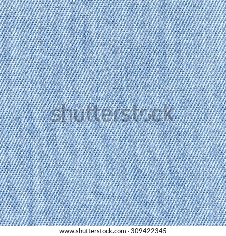 Denim Texture, Light Blue Jeans Background - stock photo