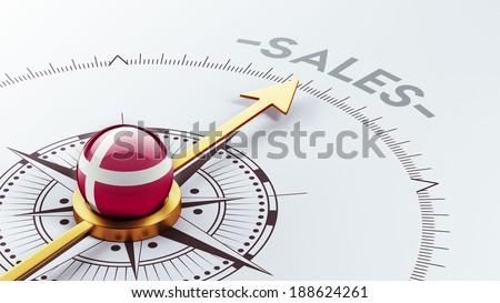 Denmark High Resolution Sale Concept - stock photo