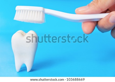 dental concept - stock photo