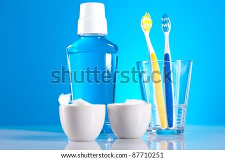 dental health care - stock photo